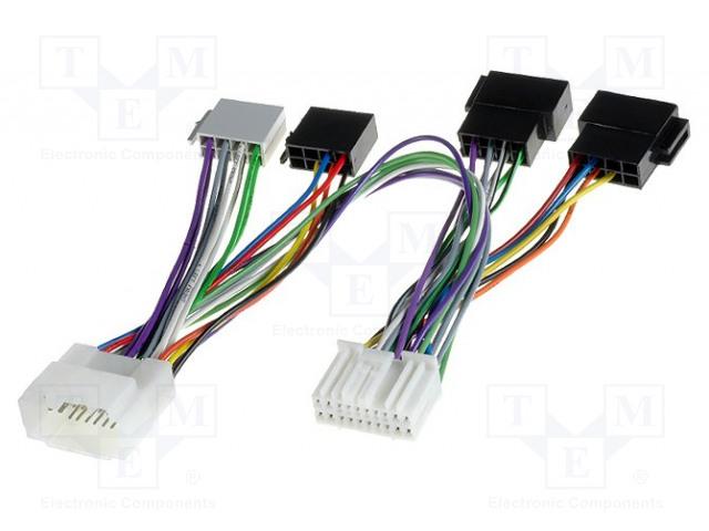 4CARMEDIA 59100 - Kabel pro hands-free sadu THB, Parrot