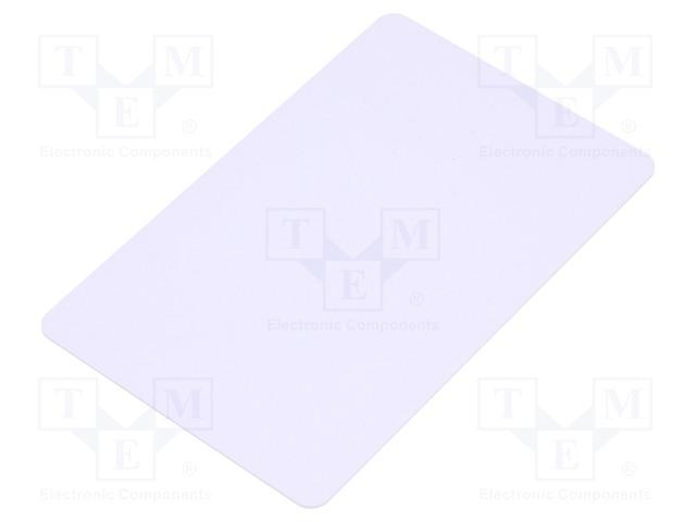 GOODWIN PVC WHITE CARD ULTRALIGHT EV1 - Modul: card RFID