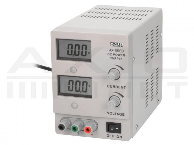 AX-1803D AXIOMET, Лабораторни захранващи устройства