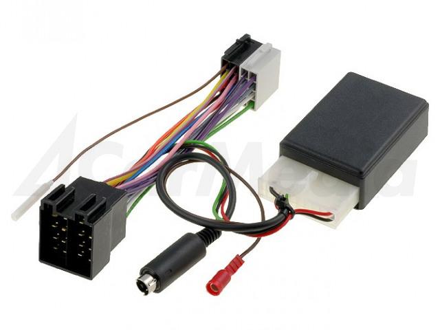 OPEL-KEN 4CARMEDIA, Adapter for control from steering wheel