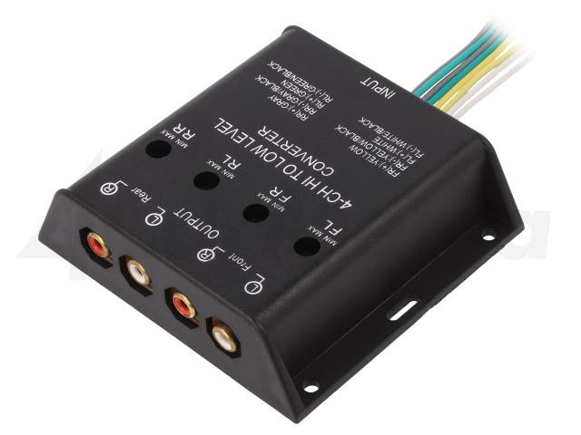 30.5000-04 4CARMEDIA, Prevodník úrovne signálov