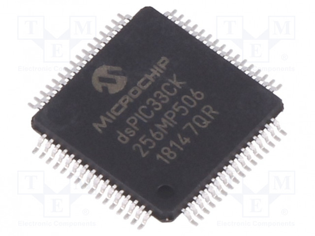 MICROCHIP TECHNOLOGY DSPIC33CK256MP506-I/PT - DsPIC microcontroller