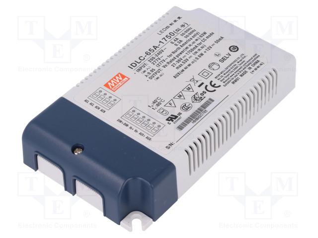 MEAN WELL IDLC-65A-1750 - Netzteil: Impuls