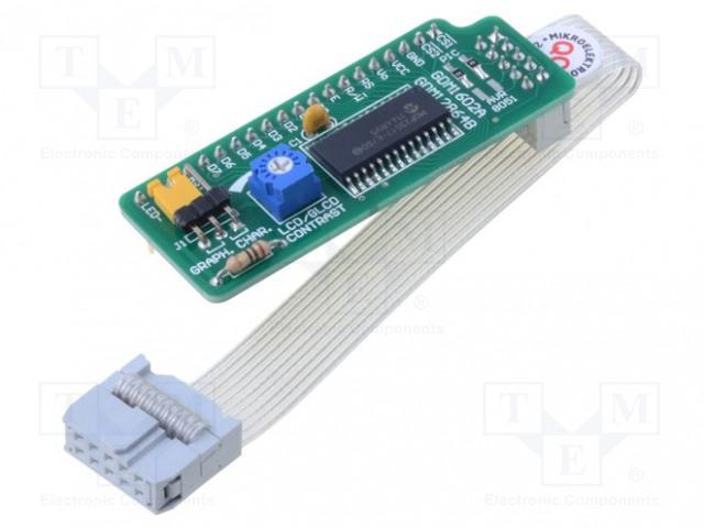 MIKROELEKTRONIKA SERIAL GLCD ADAPTER 128X64 - Multiadaptér