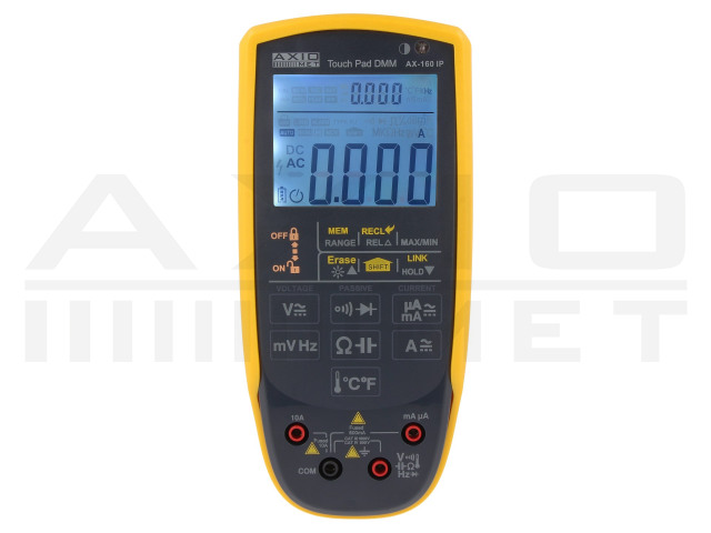 AX-160IP AXIOMET, Digitale multimeters