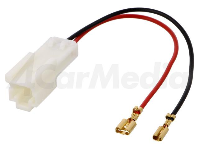ZRS-AG-23 4CARMEDIA, Adapter voor luidsprekerconnector