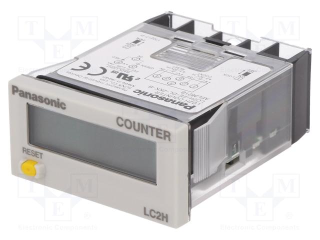 PANASONIC LC2H-FE-DL-2KK-B - Counter: electronical