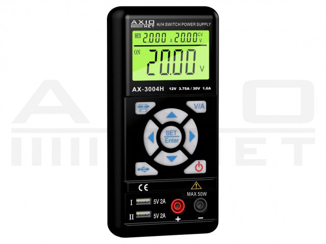 AX-3004H AXIOMET, Napájací zdroj