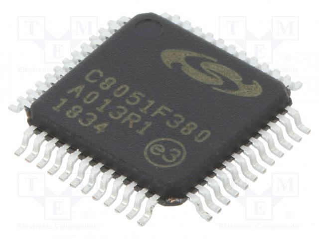 SILICON LABS C8051F380-GQ - Microcontroller 8051