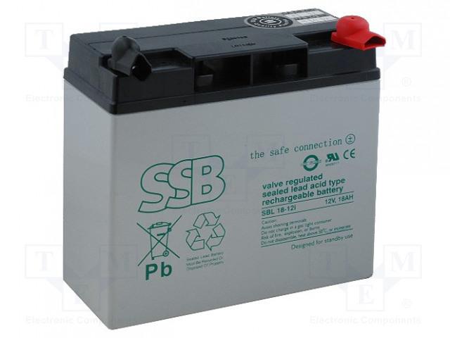 SSB SBL 18-12I - Akum: kyselino-olověné