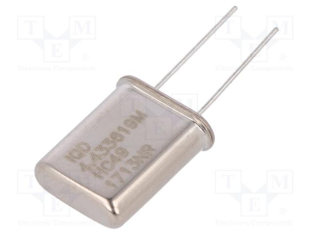 IQD FREQUENCY PRODUCTS LFXTAL003099BULK - Resonator: quartz