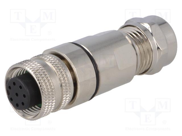 BULGIN PXMBNI12FBF08ASCPG7 - Plug