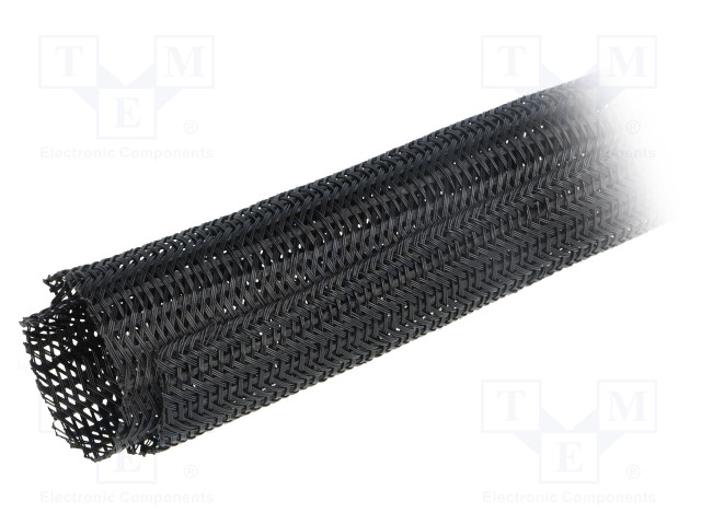ALPHA WIRE GRP1302IN BLACK 25 FT - Polyester conduit