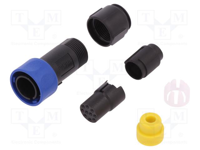 BULGIN PXP4010/10S/5055 - Connector: circular
