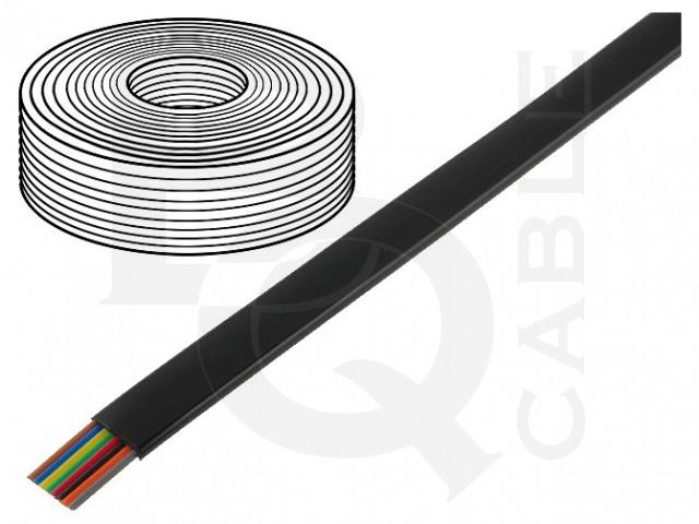 TEL-0081-500/BK BQ CABLE, Vodič