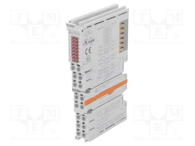 Beckhoff Automation KL2809 - Industrial module: digital output