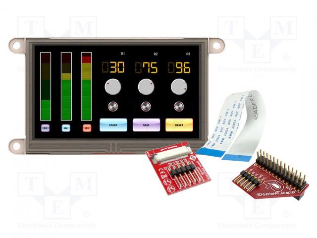 4D Systems GEN4-ULCD-43D-PI - Display: TFT