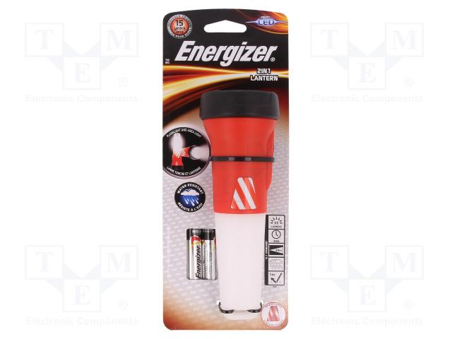 ENERGIZER ENERGIZER® 2-IN-1 LANTERN HANDHELD - Svítilna: LED