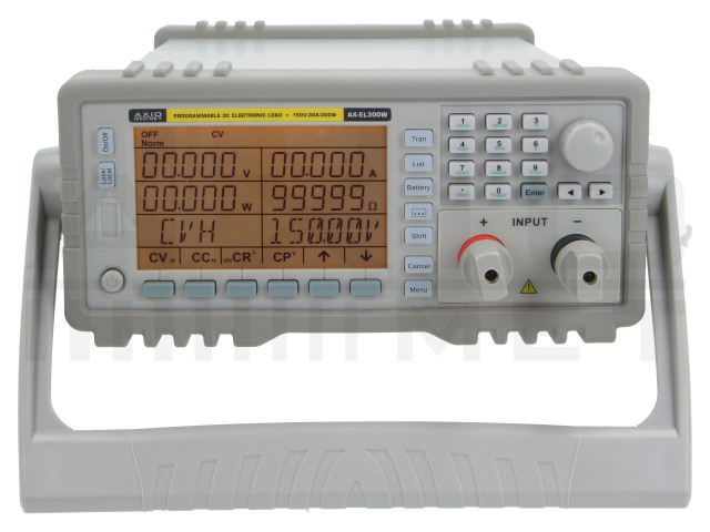 AX-EL300W AXIOMET, Sarcină electronică