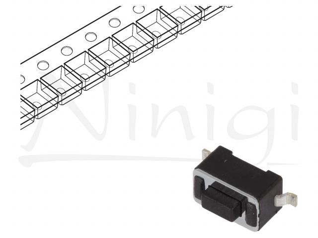 DTSM31N-F-R NINIGI, Microconmutador TACT
