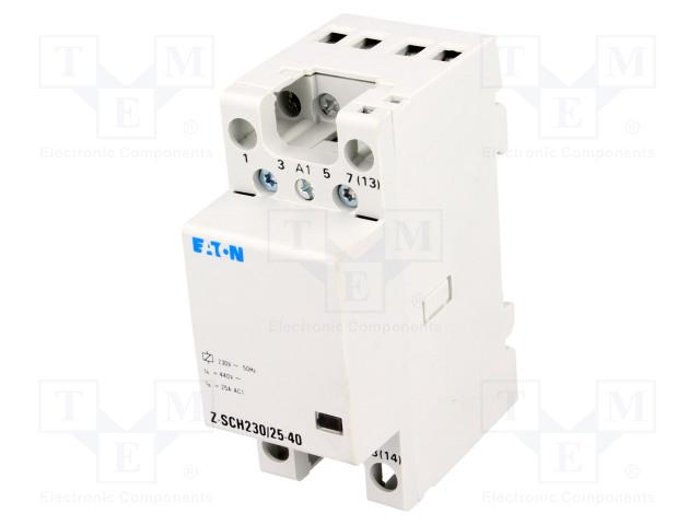 Z-SCH230/25-40 EATON ELECTRIC - Contactor: 4-pole Z-SCH230