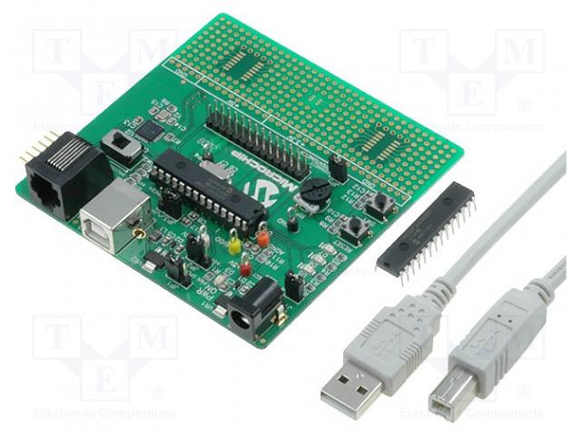 MICROCHIP TECHNOLOGY DM300027 - Výv.kit: Microchip PIC