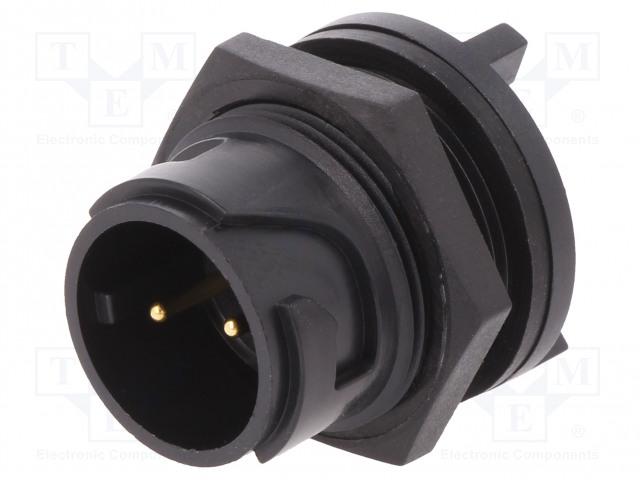 BULGIN PXP4013/02P/PC - Connettore: rotondi