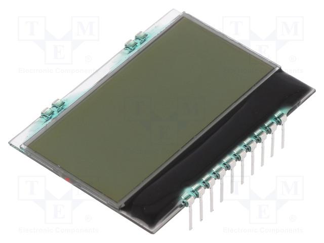ELECTRONIC ASSEMBLY EA DOGS164W-A - Zobrazovač: LCD