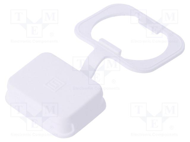 SCHURTER 0098.0107 - Příslušenství konektorů: ochranná krytka