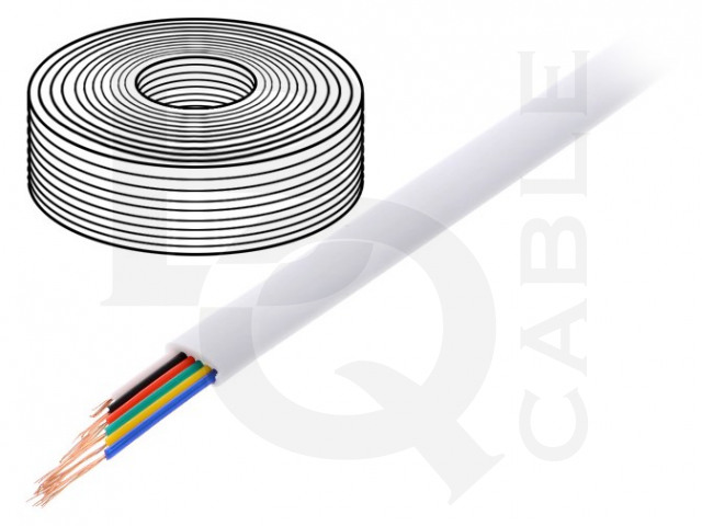 TEL-0034-100/WH BQ CABLE, Leiding
