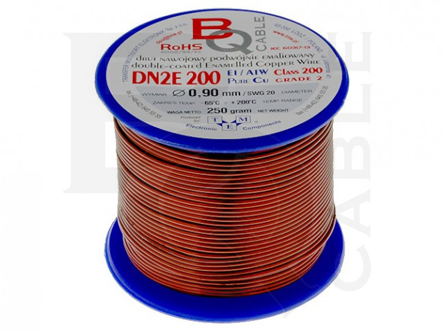 DN2E0.90/0.25 BQ CABLE, Coil wire
