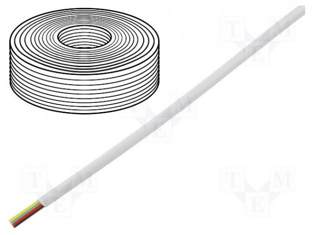 BQ CABLE TEL-0032CCA-100/WH - Wire: telecommunication cable