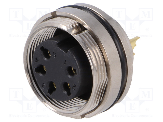 BULGIN PXMBNI16RPF05ASCM16 - Connector: M16