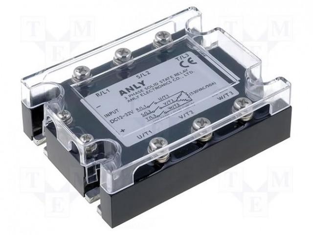 ANLY ELECTRONICS ASR-3PI100DA-H - Relé: polovidičová
