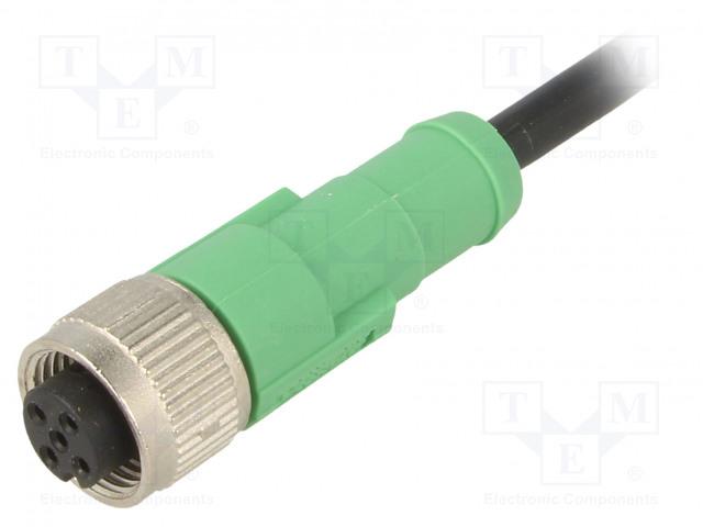 SAC-5P-1,5-PVC/M12FS PHOENIX CONTACT - Connection lead