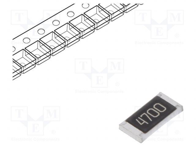 ROYAL OHM CQ1007F4700T5E - Resistor: thick film