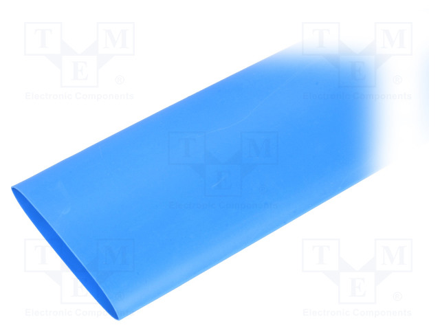 ALPHA WIRE FIT22111/2 BLUE 5X4 FT - Heat shrink sleeve