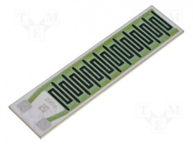 TELPOD GBR-605-230-60-2 - Resistor: thick film
