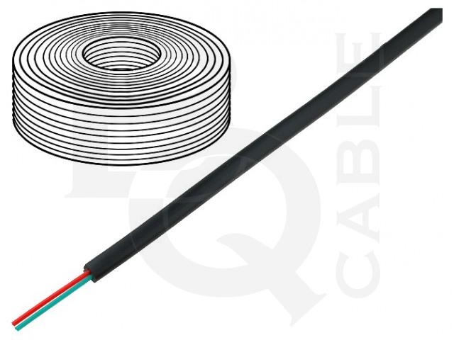 TEL-0030-100/BK BQ CABLE, Cable