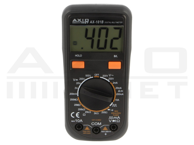 AX-101B AXIOMET, Digitale multimeters