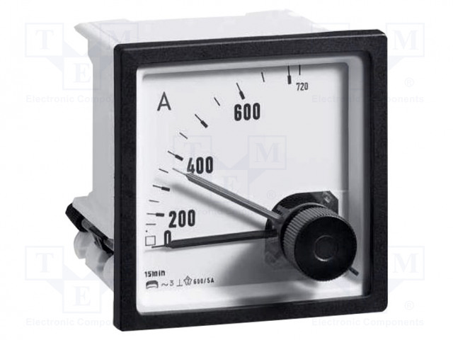 CROMPTON - TE CONNECTIVITY 039-90451-0000-5/6A-0-300/360A - Amperometer