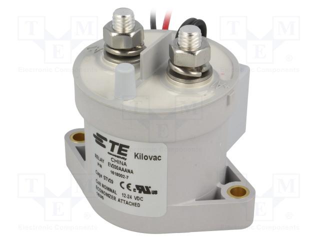 TE Connectivity 1618002-7 - Relé: elektromagnetické