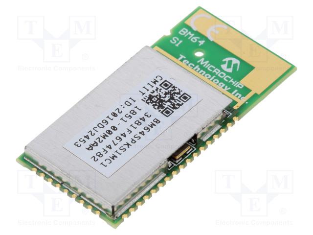 MICROCHIP TECHNOLOGY BM64SPKS1MC1-00M2AA - Module: Bluetooth