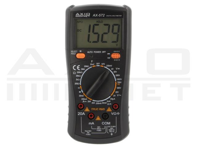 AX-572 AXIOMET, Digitale multimeter