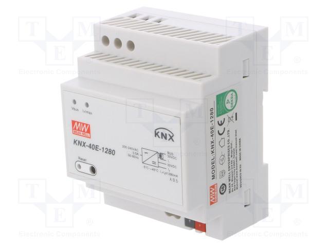 MEAN WELL KNX-40E-1280 - Napájecí zdroj: KNX / EIB