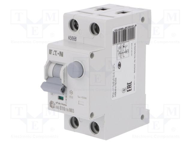 EATON ELECTRIC HNB-B10/1N/003 - RCBO breaker