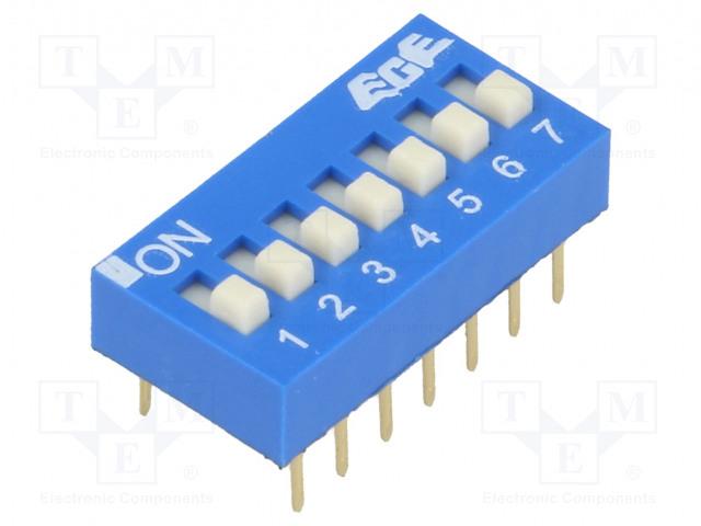 ECE EDG107S - Switch: DIP-SWITCH