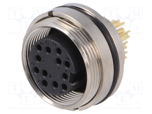 BULGIN PXMBNI16RPF12ASC - Connector: M16