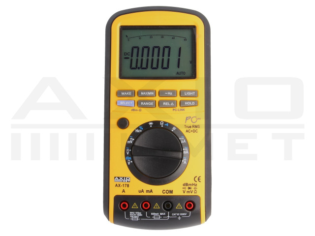 AX-178 AXIOMET, Digitale multimeters