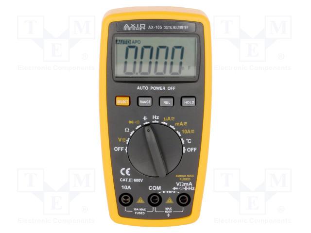 AXIOMET AX-105 - Digital multimeter